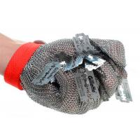 Buy cheap 6'' Stainless Steel Anti Cutting Gloves Woven with Chainmail Ring Mesh from wholesalers