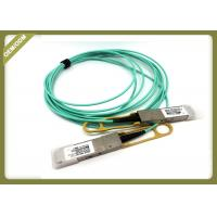 China 3.3V SFP Fiber Module Network 40G AOC Compatible QSFP+ AOC Om3 Active Optical Cables for sale