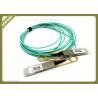 3.3V SFP Fiber Module Network 40G AOC Compatible QSFP+ AOC Om3 Active Optical Cables for sale