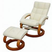 Buy cheap Recliner with Ottoman Sofa, Made of PVC Material from wholesalers