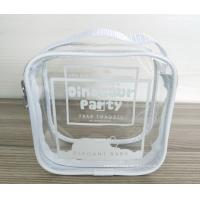 Buy 100% handmade Transparent PVC Reusable Ziplock Bags 14*14*7 CM at wholesale prices