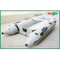 Quality 0.9MM PVC Rigid Inflatable Boats 3 - 4 Persons For Adults for sale