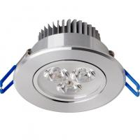 Quality 3W High Power LED Recessed Ceiling Lights Fixtures Ra75 120° for sale