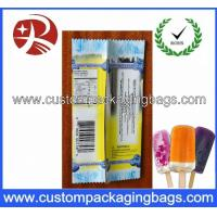 China PE / PET / PP / PA Plastic Food Packaging Bags For Ice Cream on sale