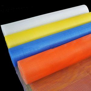 China Flexible Emulsion Polymer 50m Eifs Fiberglass Mesh on sale