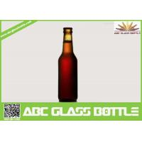 Quality 330ml Long Neck Glass beer bottles wholesales, Amber glass beer bottle for sale
