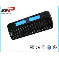 Quality 16 Slot AA AAA LCD Battery Charger NIMH NiCad Alkaline Batteries for sale
