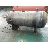 Quality Horizontal Stainless Steel Air Receiver Tanks For Machinery Manufacturing / Textile Industry for sale