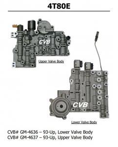 Quality Auto Transmission 4T80E sdenoid valve body good quality used original parts for sale