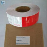 Quality Prismatic Reflective Trailer Tape Conspicuity Red White emergency Vehicle DOT Approved for sale