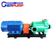 Quality High head horizontal multistage electric centrifugal water pump China factory price for sale
