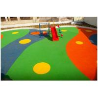 Quality Colored EPDM Rubber Granules Flooring UV Resistance ISO Approved for sale