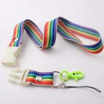 Custom new product elastic lanyard with sublimation printing