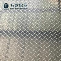 Quality Pre Coating Aluminium Diamond Plate 1050 1060 With Excellent Corrosion Resistance for sale