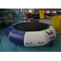 Quality Lake Inflatable Water Games Inflatable Water Trampoline Dia3m 0.9mm PVC Trapaulin for sale