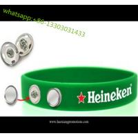 Quality custom 1 inch wide fat silicone wristbands silicone rubber wristband for club, sport team for sale