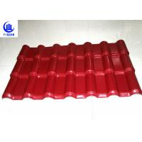 Quality 3 Layers Heat Insulation Color Stable Pvc Resin Roof Tile Strong Capacity 100kg for sale