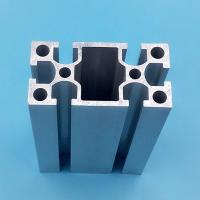 Quality 20mm X 40mm Black Aluminium Window Door Frames High Precision Machining for sale