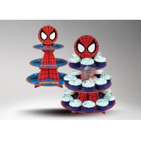 Buy POP Recyclable Cardboard Cup Cake Stand / Cardboard Shelf For Cup Cake at wholesale prices