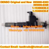 Quality DENSO Original new Injector 095000-6303,9709500-630 , 095000-630# for ISUZU 1-15300436-0 for sale