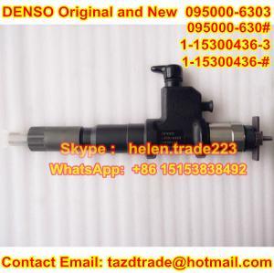 Quality DENSO Original new Injector 095000-6303,9709500-630 , 095000-630# for ISUZU 1-15300436-0 for sale