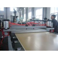 Quality Wood - Plastic Plate WPC Extrusion Machine For Advertise Lettering Plastic Sheet Machine for sale