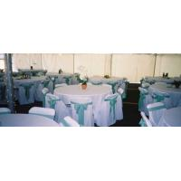 Quality 100% Polyester Hotel Chair Cover for sale
