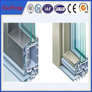Quality Aluminum profile windows and door manufacturer/ door frame aluminum extrusion for sale