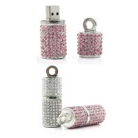 OEM Promotional Usb Pen Drive , High Speed Crystal Customized Usb Flash Drive