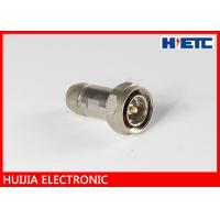 China Communication 1/2 Feeder Cable Rf Antenna Connector , Male ST Clamp Electornic Antenna Cable Connectors on sale