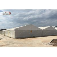 China 20x80m Large Aluminum White Waterproof Temporary Car Storage Tents Structure For Sale on sale