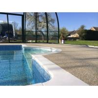 Quality Non - Pollution Rubber Surface Around Pools Fragmented Chips ISO Approved for sale