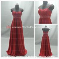 Quality Red bridesmaid dress prom dress evening dress#ASF1 for sale