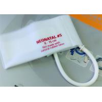 Quality Neonatal 3 Pediatric Blood Pressure Cuff Disposable , NIBP CUFF for Hospital for sale