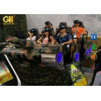 China 6 Luxury Seats Virtual Reality Cinema , 9D Adventure Cinema 250mm/S Movement Speed on sale