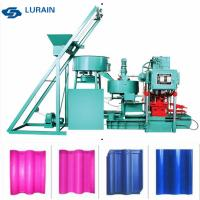 China Automatic control concrete roof tile machine  for European Tiles and Wave Tiles Making on sale