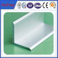 Buy aluminium angle profile 80mm*80mm*6mm angle aluminium profile at wholesale prices