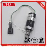 China KWE5K-20 G24D12A G24D05 Kobelco Spare Parts Excavator Safety Lock Solenoid Valve on sale