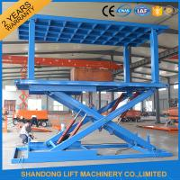 Quality 6T 3 Portable Hydraulic Car Lift / Automated Car Parking System With CE Certified for sale