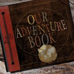 Adventure Photo Album or Scrapbook