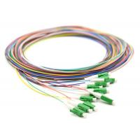 4 6 8 12 Fiber Optic Pigtail LC APC Single Mode Fiber Jumpers SMF-28e / G652G Type