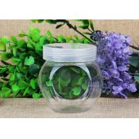 China Special Style Clear Plastic Cylinder / Security Screw Cap Bottle Food Grade on sale