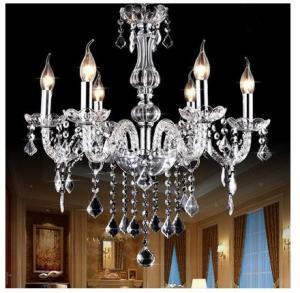 China Best price promotional crystal pendant Lamp black crystal pendant light on sale