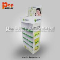 Quality Foldable Chewing Gum Corrugated Pop Display With Oil Varnish For Advertising for sale