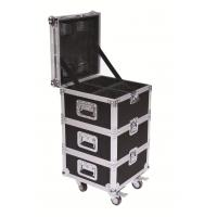 Quality Convenient Stage Performance Wheeled Rack Flight Case For LED Lights / Cables for sale