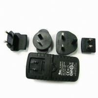 Quality 1.25A to 4A Ktec Wide Range Travel Power Adapters Adapter with 3.0 to 24.0V Output Voltage for sale