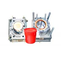 Quality Durable Household Plastic Paint Bucket Mould , Industrial Injection Molding Tool for sale
