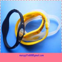 China Power Disc Energy Cheap Balance Power Silicone Bracelet on sale