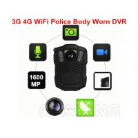 Quality Small IP67 1080P Police Video 4G Body Worn Camera for Evidence Recording for sale