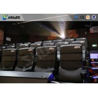 Buy cheap Commercial Theater 4D Movie Equipment With Electric System Motion Chair from wholesalers